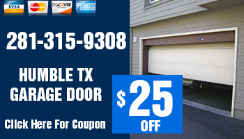 Humble TX Garage Door Offer